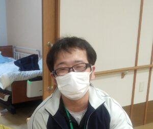 日々の中で利用者さんの笑顔が見られると、とても嬉しく、介護の仕事をしていてよかったと思います。