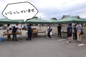 生活にお困りの方を食料等の無料提供で支援する活動「わかまつ まちなかマルシェ(フードパントリー)」を開催いたしました。
